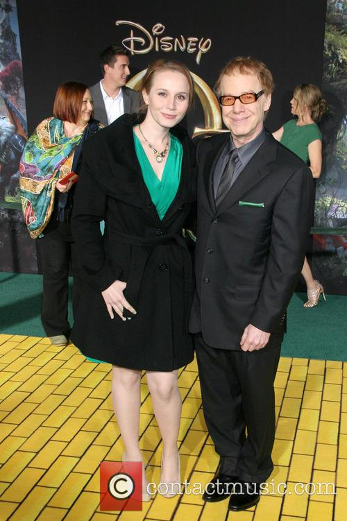 Mali Elfman and Danny Elfman 2