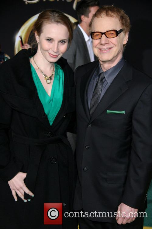 Mali Elfman and Danny Elfman 1