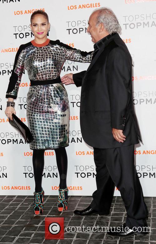 Jennifer Lopez and Sir Philip Green 1
