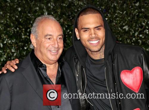 Sir Philip Green, Chris Brown