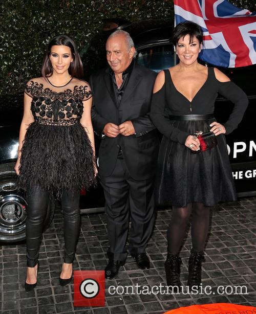 Kim Kardashian, Sir Philip Green and Kris Jenner 8