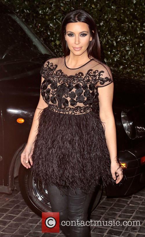 Kim Kardashian at the Topshop launch