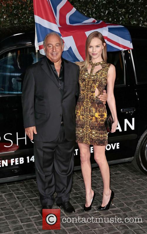 Sir Philip Green and Kate Bosworth 4