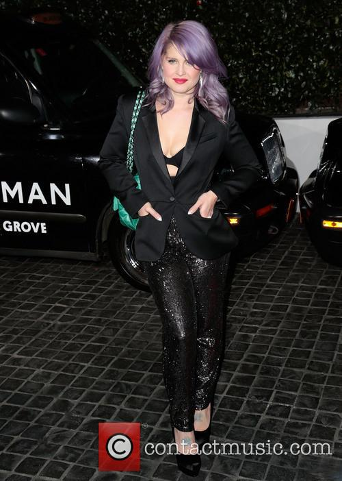Kelly Osbourne at the Topshop Topman LA Opening Party