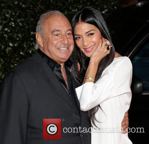 Sir Philip Green and Nicole Scherzinger 8