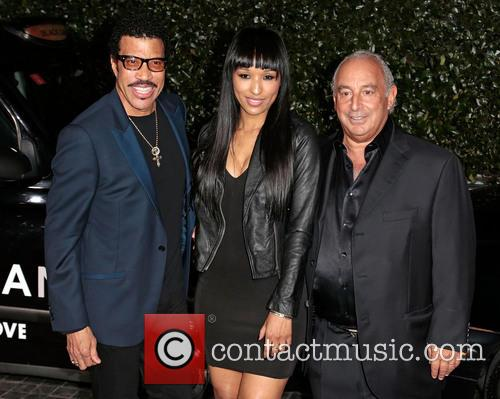 Lionel Richie and Sir Philip Green 7
