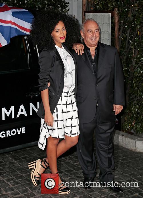 Solange Knowles and Sir Philip Green 2