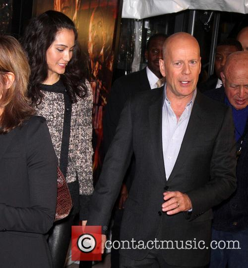Emma Heming and Bruce Willis 3
