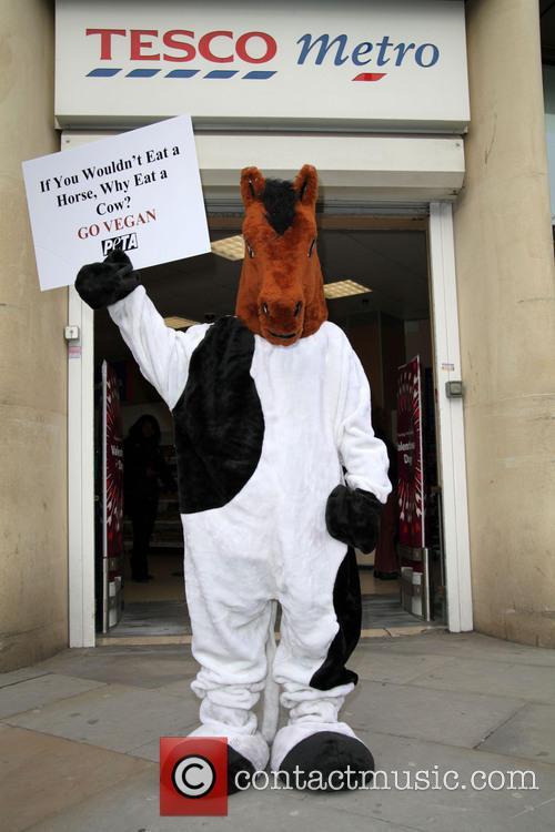 (PETA) protest