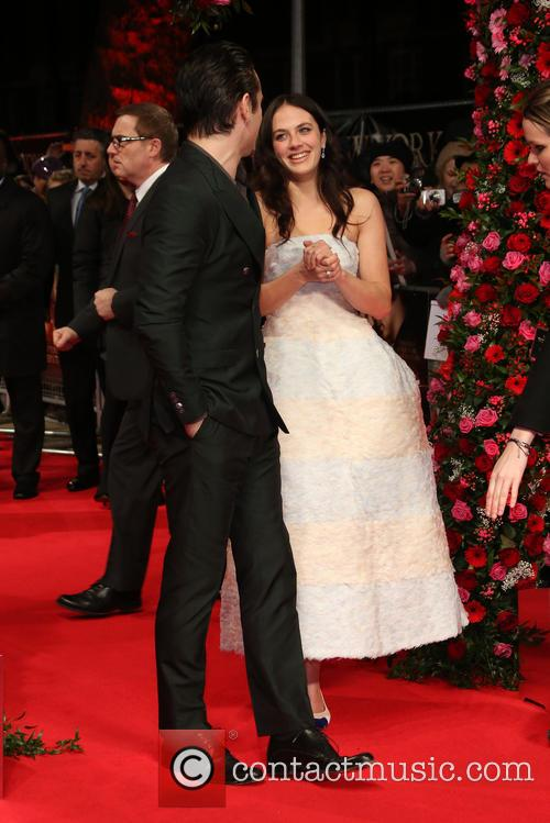 Jessica Brown Findlay and Colin Farrell