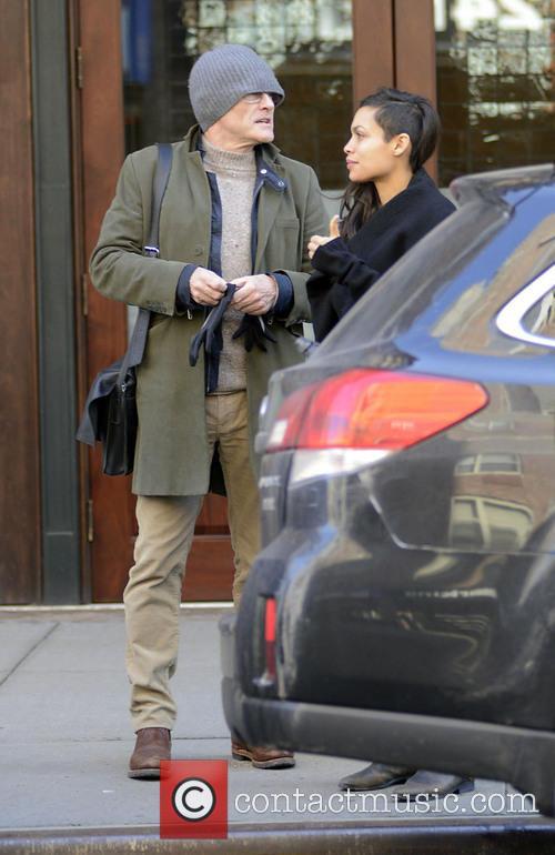 Danny Boyle and Rosario Dawson 2