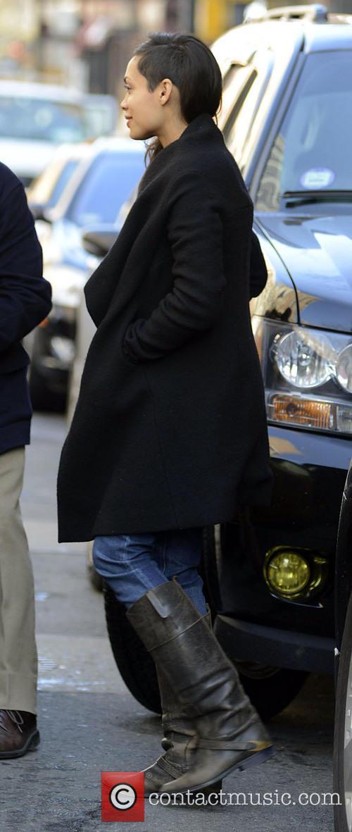 Danny Boyle and Rosario Dawson 3