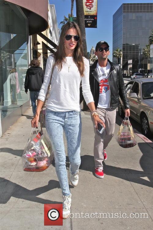 Alessandra Ambrosio and Jamie Mazur 6