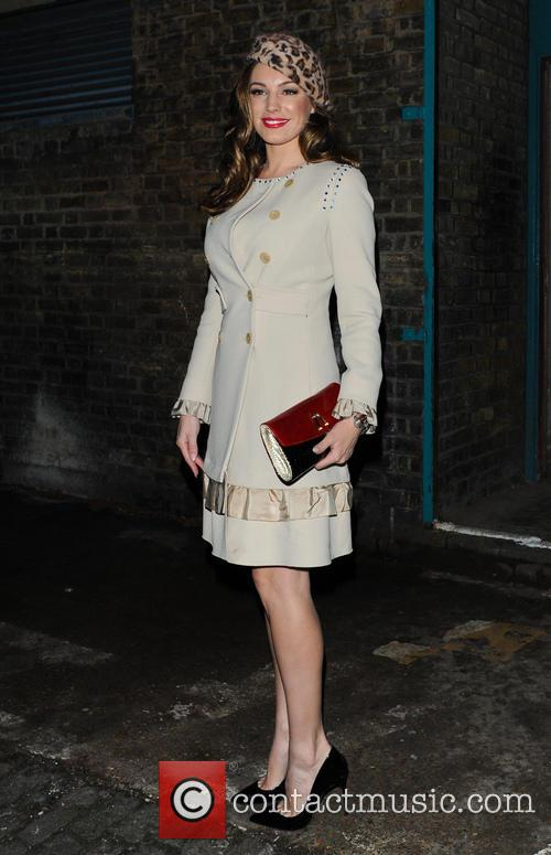 Kelly Brook arrives for the opening night of...