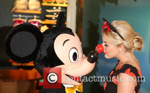 Lydia Bright and Mickey Mouse 2