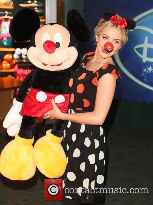 Lydia Bright and Mickey Mouse 3
