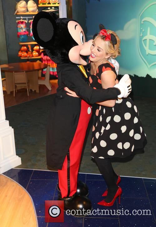 Lydia Bright and Mickey Mouse 4