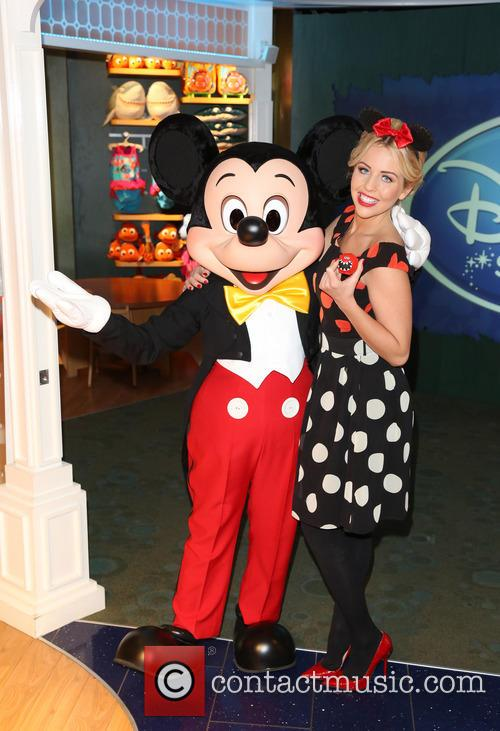 Lydia Bright and Mickey Mouse 7