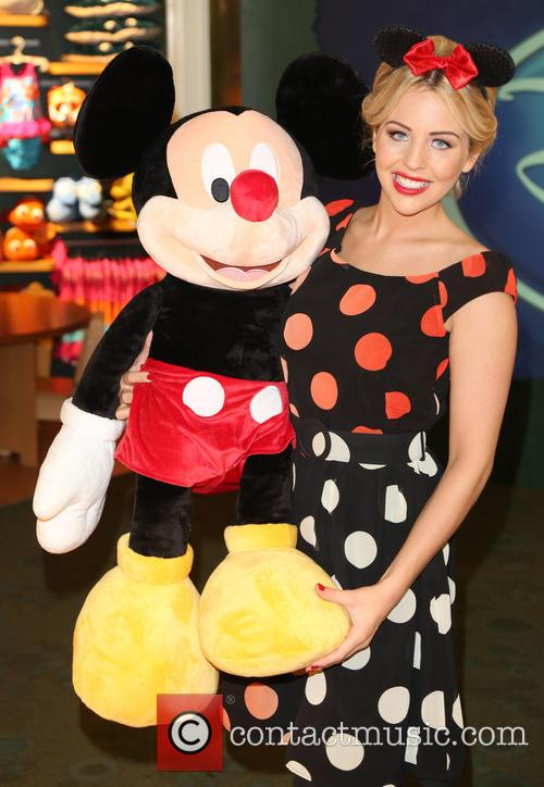 Lydia Bright and Mickey Mouse 9