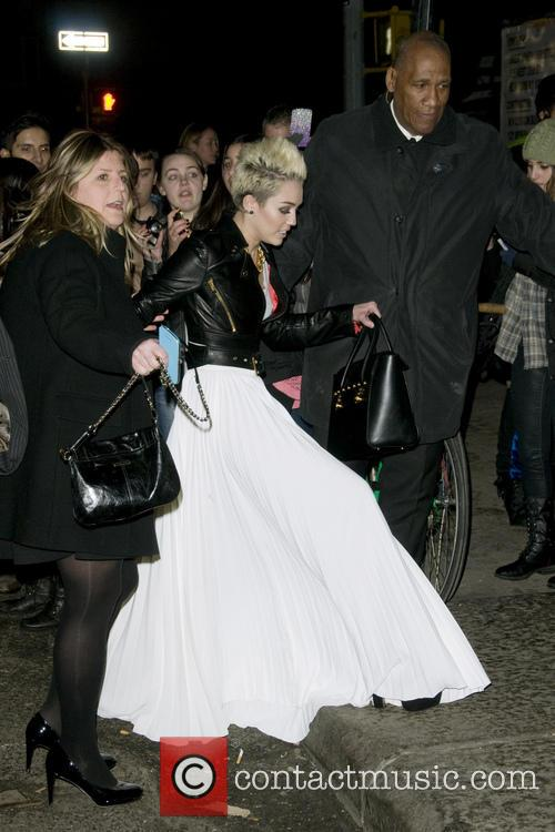 Miley Cyrus Celebrates her Cosmopolitan  Cover