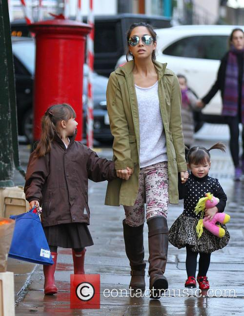 Hero Quinn, Myleene Klass and Ava Quinn 1