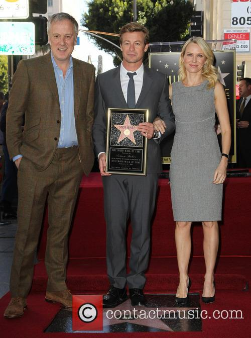 Bruno Heller, Simon Baker and Naomi Watts 1