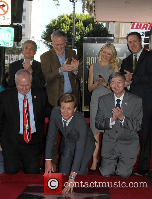 Tom Labonge, Bruno Heller, Simon Baker, Naomi Watts and Leron Gubler 5