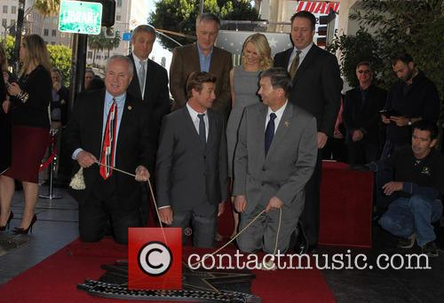 Tom Labonge, Bruno Heller, Simon Baker, Naomi Watts and Leron Gubler 1