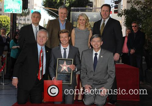 Tom Labonge, Bruno Heller, Simon Baker, Naomi Watts and Leron Gubler 7
