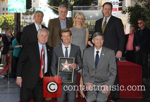 Tom Labonge, Bruno Heller, Simon Baker, Naomi Watts and Leron Gubler 8