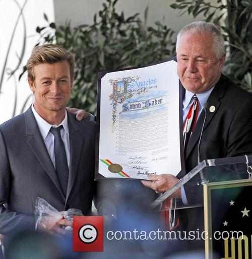 Simon Baker, Hollywood Walk and Fame 2