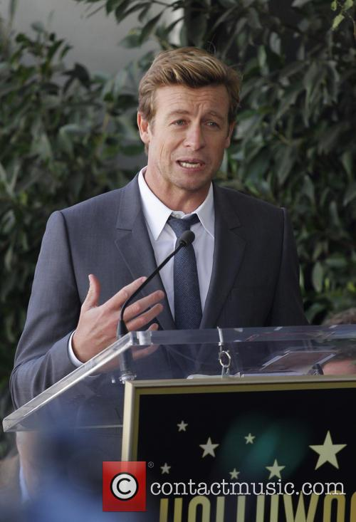 Simon Baker, Hollywood Walk and Fame 3