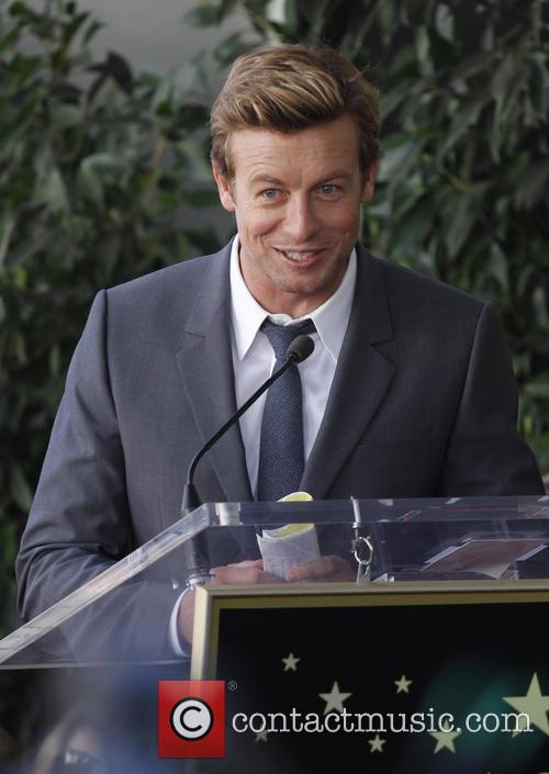 Simon Baker, Hollywood Walk and Fame 6