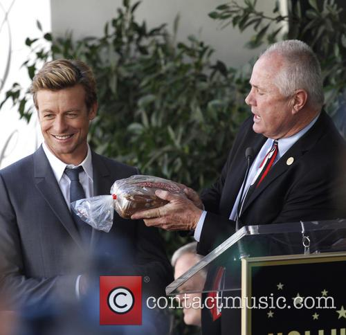 Simon Baker, Hollywood Walk and Fame 7