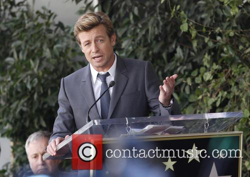 Simon Baker, Hollywood Walk and Fame 8