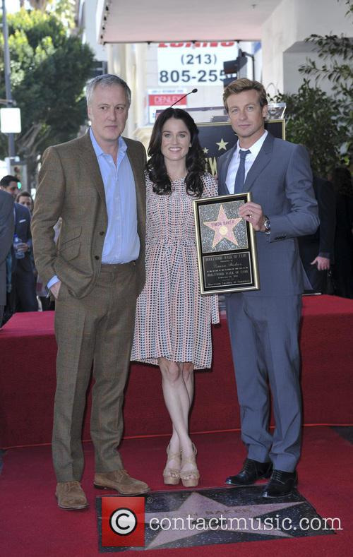 Bruno Heller, Robin Tunney and Simon Baker 7