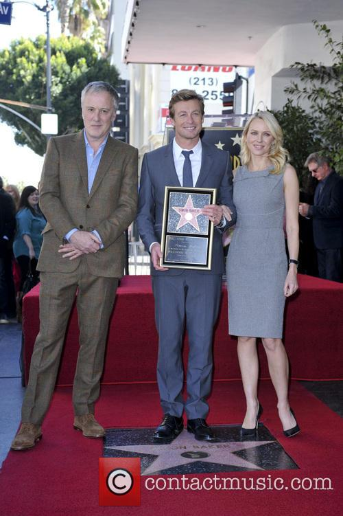 Bruno Heller, Simon Baker and Naomi Watts 6