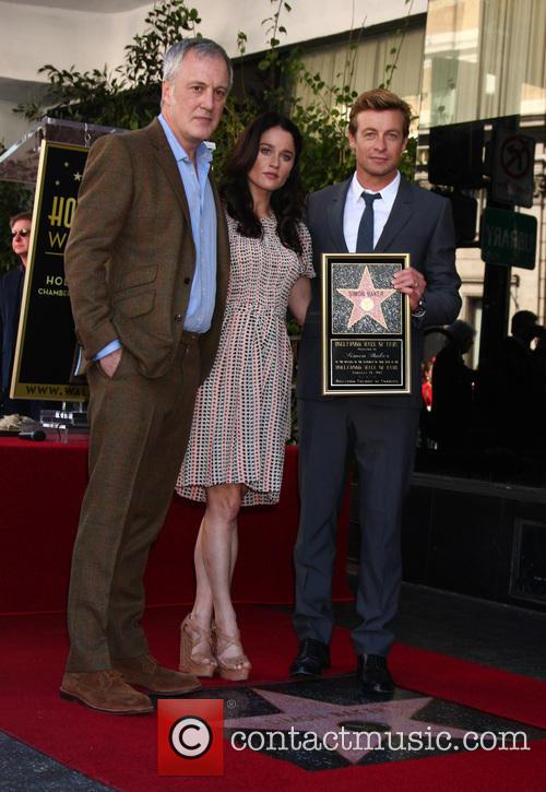 Bruno Heller, Robin Tunney and Simon Baker 2