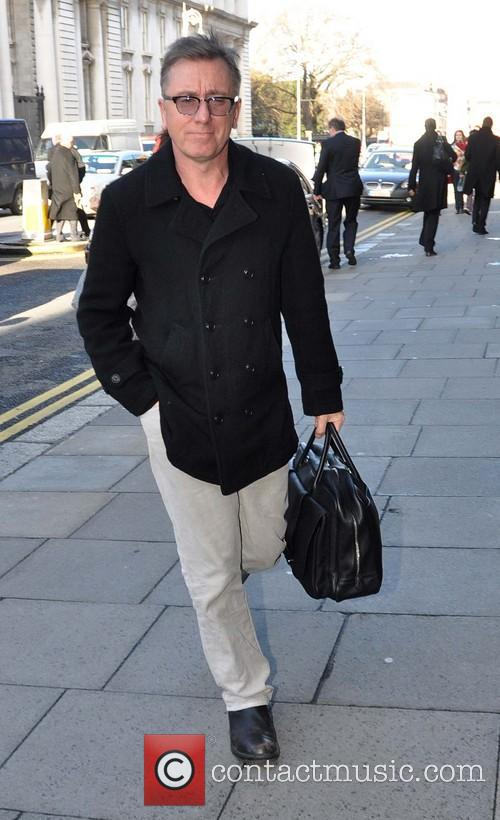 Tim Roth arrives at the Merrion hotel