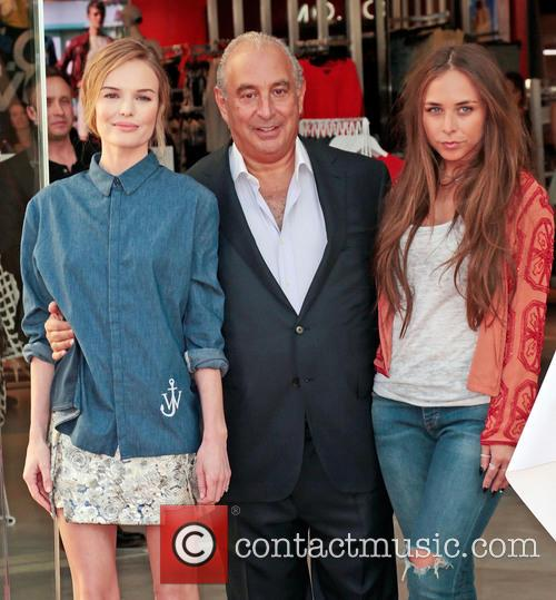 Kate Bosworth, Sir Philip Green and Chloe Green 7