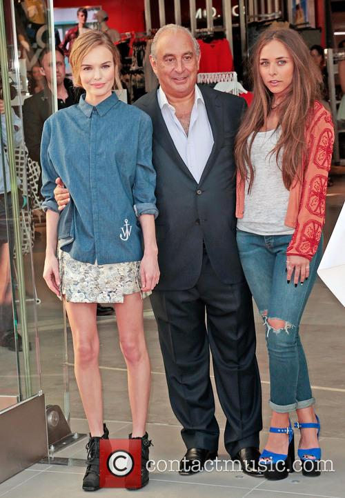 Kate Bosworth, Sir Philip Green and Chloe Green 1
