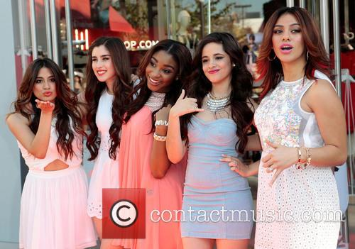 Dinah, Ally Brooke, Lauren Jauregui, Normani Hamilton, Camila Cabello and Fifth Harmony 6