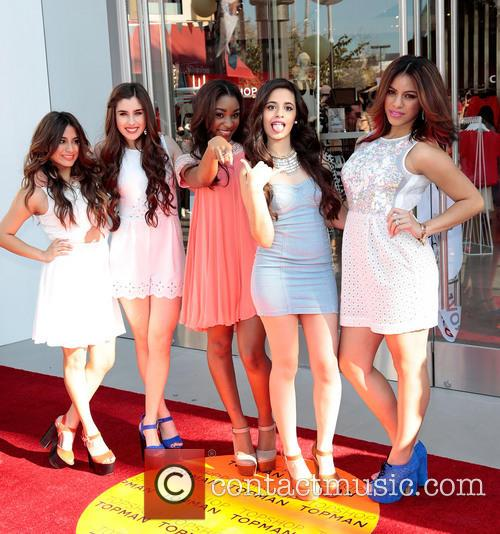 Dinah, Ally Brooke, Lauren Jauregui, Normani Hamilton, Camila Cabello and Fifth Harmony 7