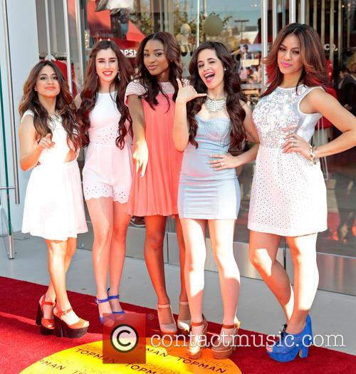 Dinah, Ally Brooke, Lauren Jauregui, Normani Hamilton, Camila Cabello and Fifth Harmony 1