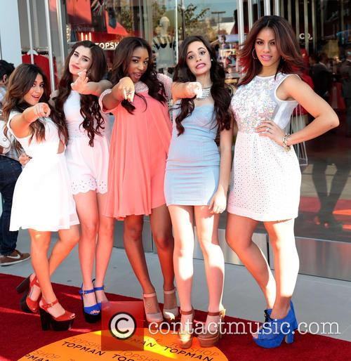Dinah, Ally Brooke, Lauren Jauregui, Normani Hamilton, Camila Cabello and Fifth Harmony 10