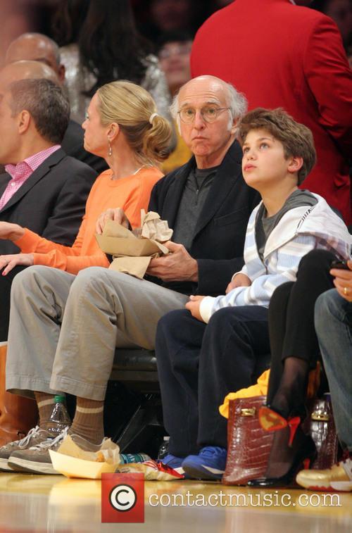 Larry David, Staples Center