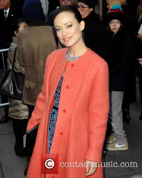 Olivia Wilde, New York Fashion Week