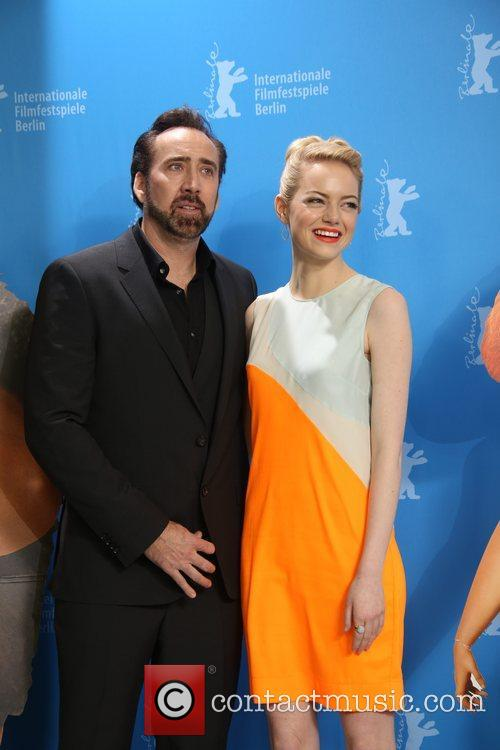 Nicolas Cage and Emma Stone 1