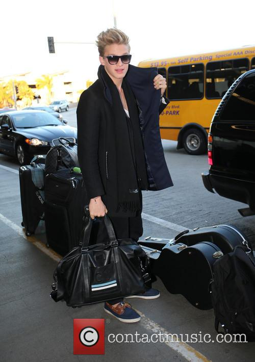 Cody Simpson at LAX Airport