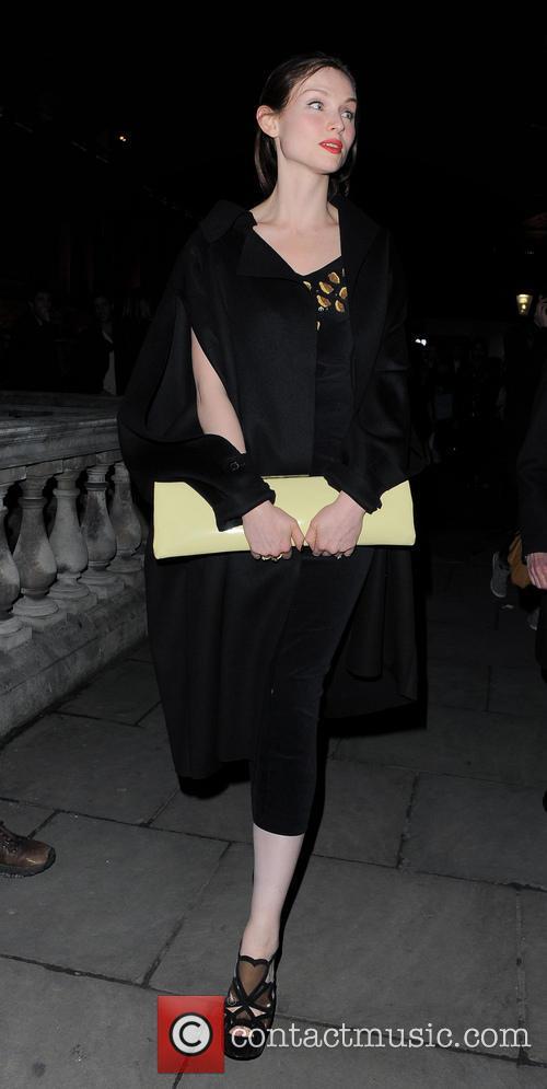 Sophie Ellis Bextor, London Fashion Week, Somerset House
